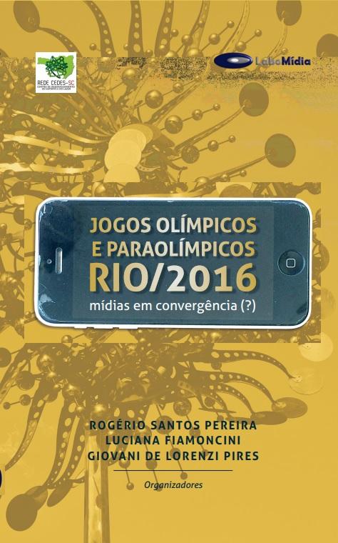 CAPA LIVRO JOGOS OLÍMPICOS E PARAOLÍMPICOS RIO 2016